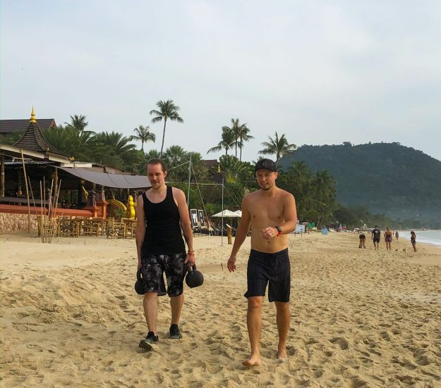 Samui Fitness Retreat Beach