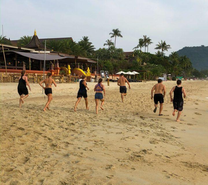 Samui Fitness Retreat BeachRun