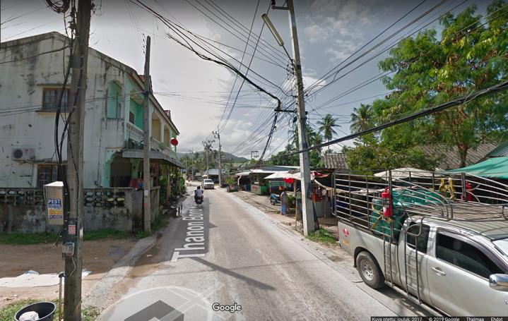 Koh Samui: Bangrak. Kuva Google Mapsin katukuvasta