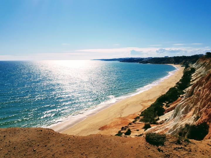 Portugalin kaunista rantaa.