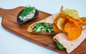 Preset Kaupan Food Blogger4-presetillä muokattu kuva.