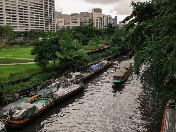 Saen Saep-kanaali Bangkokissa.
