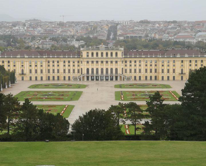 Ensimmäinen viikko Wienissä