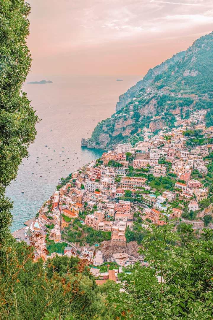 Italia: Sentiero degli Dei. Kuvaaja: HandLuggageOnly.co.uk-bloggaaja.