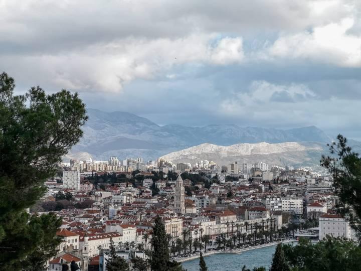 Näkymät suoraan Splitin keskukseen!