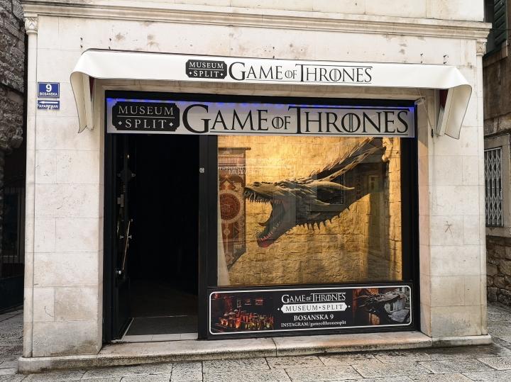 Game Of Thrones-museo Splitissä