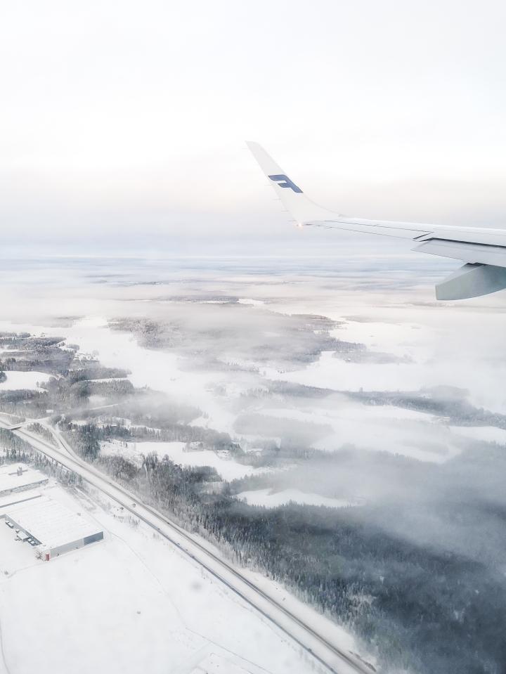 Paluu Suomeen sinivalkoisin siivin.